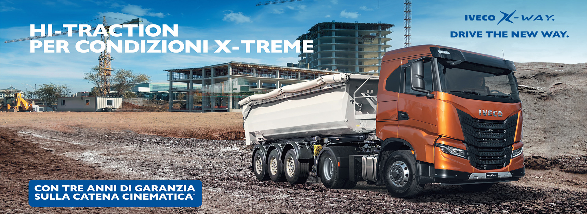 IVECO X-WAY CON HI-TRACTION