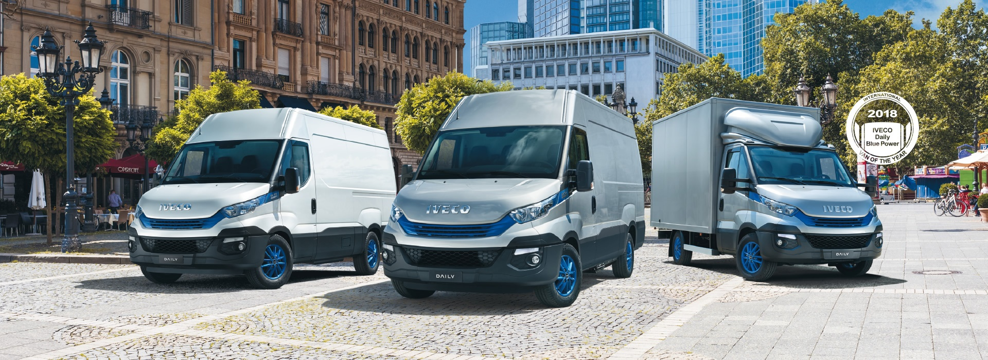 IVECO DAILY BLUE POWER E' VAN OF THE YEAR 2018!